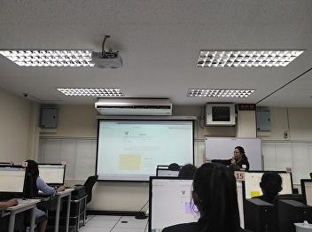 ร่วมอบรมการใช้งานระบบสำนักงานอิเล็กทรอนิกส์(e-office)