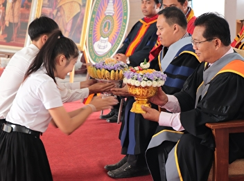 "Suan Sunandha Rajabhat University Udon Thani Education Center held the ""Wai-Kru Ceremony"" in order to remind the gratitude to the teachers. In this occasion,"