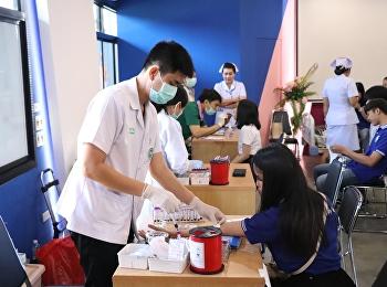 โครงการตรวจสุขภาพนักศึกษา ประจำปี 2563 ระหว่างวันที่ 13 - 15 มกราคม 2563 ณ ห้องประชุมช่อทองกวาว ศูนย์การศึกษาจังหวัดอุดรธานี มหาวิทยาลัยราชภัฏสวนสุนันทา