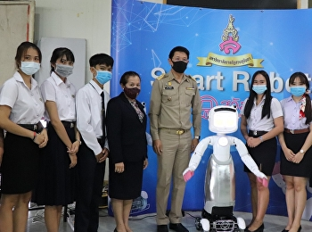 New innovation, Smart Robot, Nong Sawadee welcomes the head of government And people of Udon Thani Province