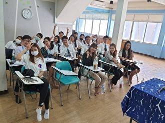 บรรยากาศการฝึกงาน ของพี่ลูกเกด #TiHM60 ณ บริษัท หนุ่มสาวทัวร์ จำกัด กรุงเทพมหานคร และผ่านการนิเทศฝึกงานออนไลน์ #ผลงานดีมีคำชม