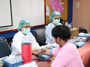 โครงการตรวจสุขภาพนักศึกษา ศูนย์การศึกษาจังหวัดอุดรธานี