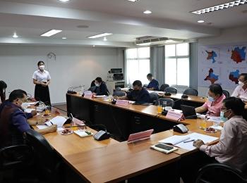 On August 10, 2021 time 08.30 at Mr. Supat Somsuk, Deputy Director of Administration Udon Thani Provincial Education Center Suan Susantha Rajabhat University
